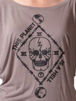 This Planet Is A Hell Batwing Blouse by Death/Traitors