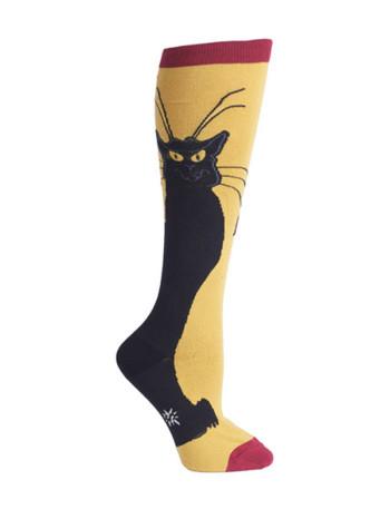 Chat Noir Knee Socks by Sock It To Me