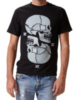 Double Skulls Tee by Death/Traitors
