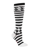 Mondo Guerra Houndstooth Knee Socks by Sock it to Me