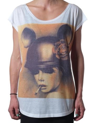 Mickey Smokes Top By Chatuchak BKK