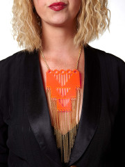 Ziggurat Necklace by I Still Love You New York
