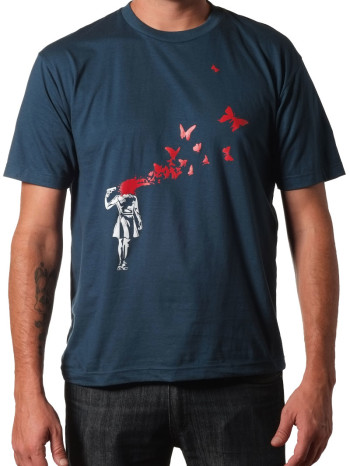 Butterfly Suicide Tee by Rocky Clothing