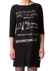 symbol script dress