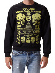 You Are Your Own Master Sweatshirt by Death/Traitors