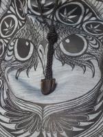 Pot Owl Messenger Bag bu Sure Original Clothing