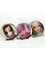 Creepy Doll Compact Case