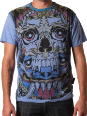 Demon Face Tee by Weed Clothing