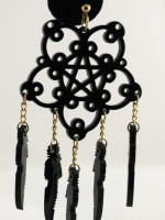 Nightmare Catcher Earrings by ISLYNYC