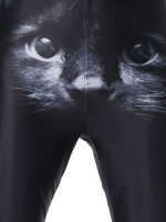 Black Pussy Leggings by Iron Fist