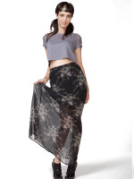 Nightmare Catcher Maxi Skirt by Iron Fist