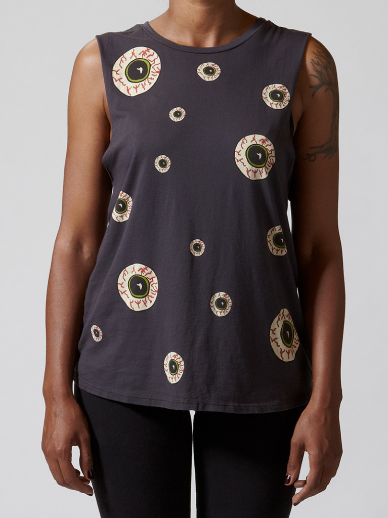Eye Repeat Tank by Morning Warrior