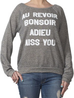 Adieu Miss You Crew Sweatshirt by Morning Warrior