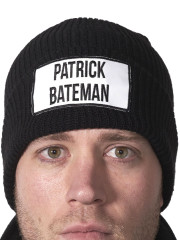 Black Bateman Beanie by Hips and Hair