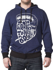Navy Straight to Hell Hoodie by Iron Fist