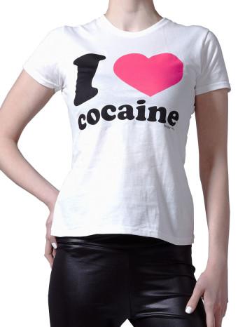 I Heart Cocaine tee by Heroin Kids