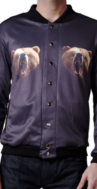 Grizzly Bear Jacket by Mr. GuGu & Miss Go