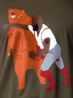 Man Punching Bear by Sharp Shirter