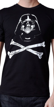 Darth Vader Crossbones by Crawlspace Studios