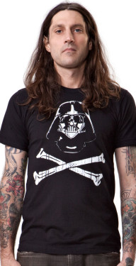Darth Vader Crossbones Tee by Crawlspace studio