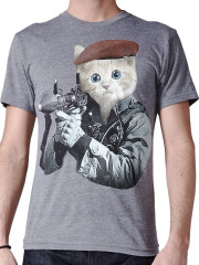GI Kitty Tee by Sharp Shirter