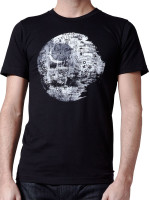 Death Star Vandalism Tee by Crawlspace Studios