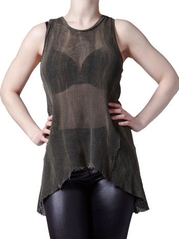 Netted Burner Tunic by Lipservice