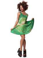 Green Nebula Circle Dress by Mr. Gugu & Miss Go