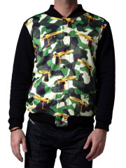 Guns & Camo Baseball Jacket by Mr. GuGu & Miss Go
