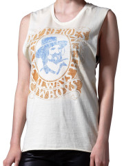 My Heros Have Always Been Cowboys Muscle Tee by Midnight Rider