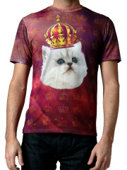 King Cat Tee by Mr. GuGu & Miss Go