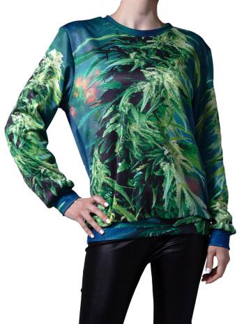 Ganja Sweatshirt by Mr. GuGu & Miss Go