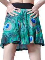 Peacock Circle Skirt by Mr. GuGu & Miss Go