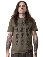 Plastic Army Man Tee by Crawlspace Studios
