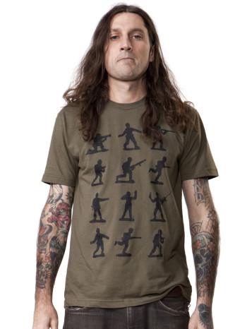 Plastic Army Man Tee by Crawlspace Studios