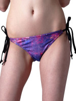 Purple Nebula String Bikini  by Mr. GuGu & Miss Go