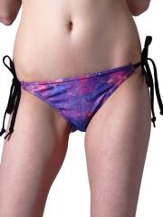 Purple Nebula String Bikini  by Mr. GuGu & Miss Go