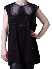 Widow Sleeveless Tee by Widow