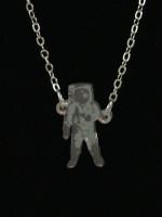 Astronaut Necklace by Vinca Jewelry