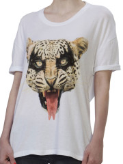 Here Kitty Drape Tee