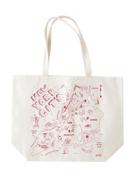 New York City Beach tote by Maptote, nyc tote, new york grocery tote, new york tote bag