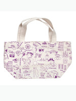 New York Mini Tote by Map Totes