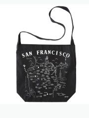 San Francisco Hobo Crossbody by Maptote, san fran tote bag, san fran bag, san fran cross body, san francisco tote bag, san francisco cross body