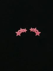 Triple Star Earrings by Vinca Jewelry