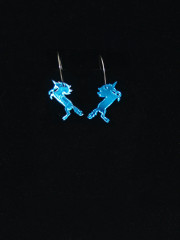 Unicorn Earrings by Vinca Jewelry