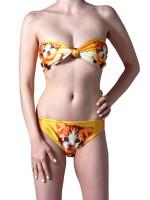Pretty Pussy Bandeau Bikini Top