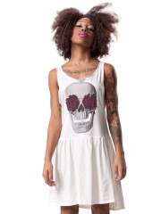 Hips & Hair Skull Rose Ryder dress
