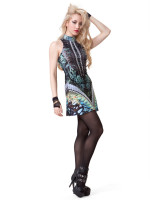 Skin and Bones Dress by Lipservice