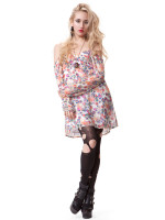 Skye Dress- Paisley Floral by Blackhearts Brigade