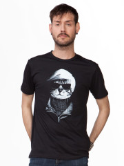 Who's Laughing Meow Tee by Headline Shirts